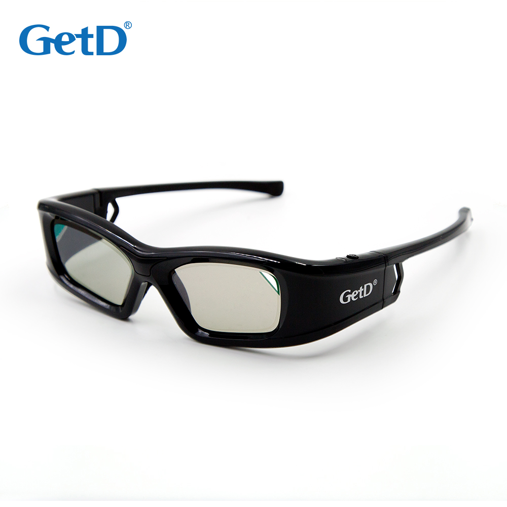 active shutter 3d glasses GH410IF1 compatible with IR and Bluetooth TV
