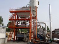 produce 60 to 80 tons per hour LBJ1000 Asphalt mixing plant for sale
