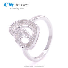 Original 9.25 Silver Ring Jewelry Decoration Shop FR047
