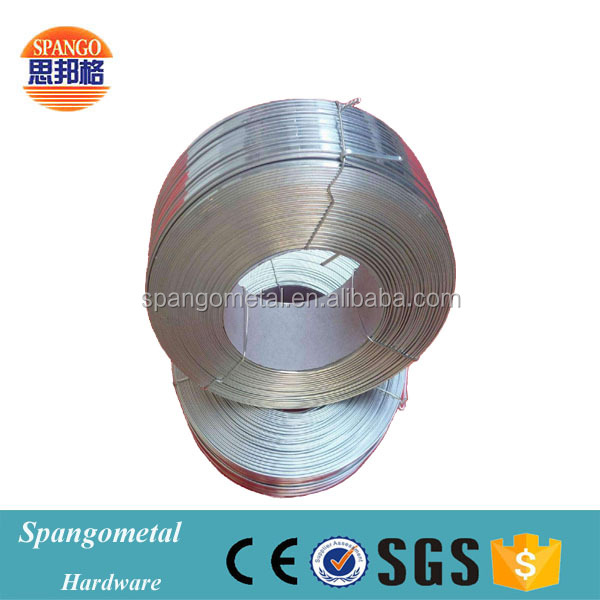 Hot dipped galvanzied stainless flat metal steel wire