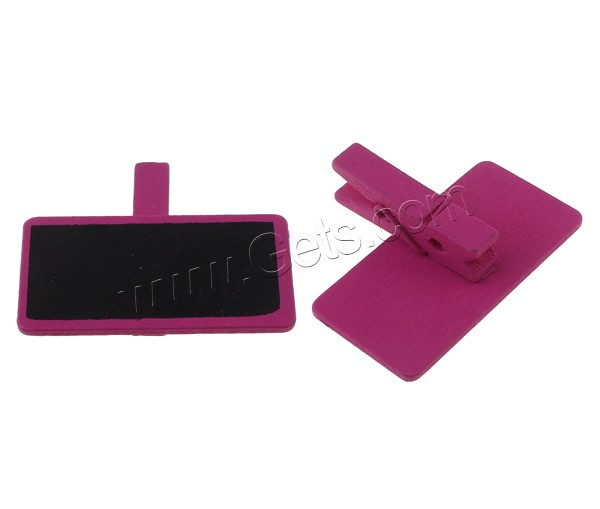 Fashion Office Clip Wood price tag holder clip memo clip