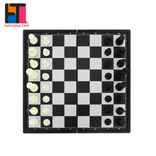 Students preferred indoor magnetic puzzle toys chess board game for sale
