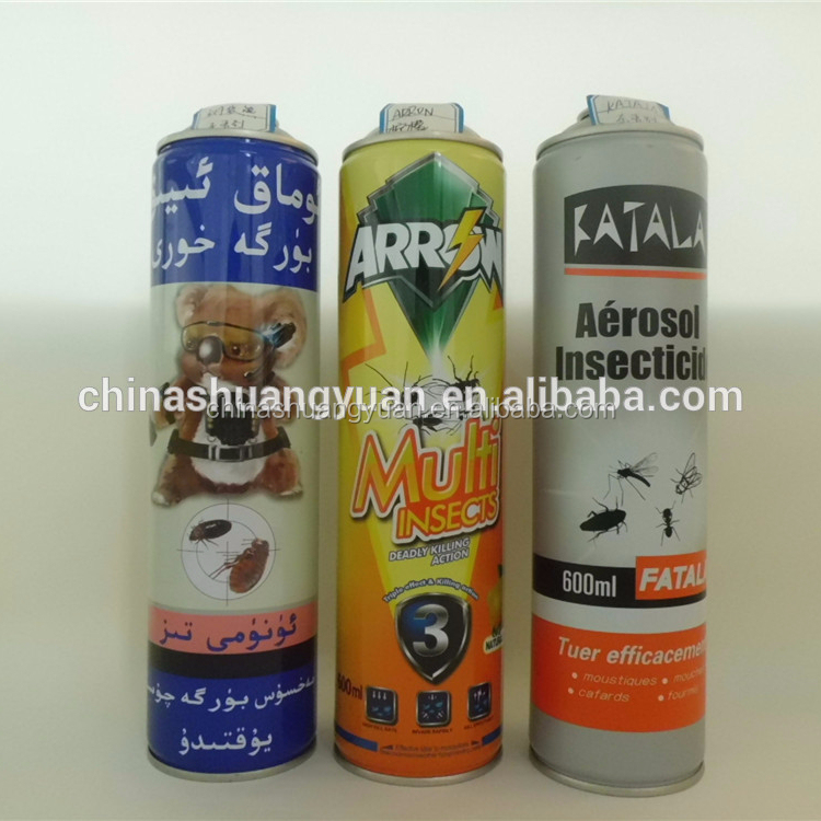 Diameter 70mm empty aerosol packaging spray can