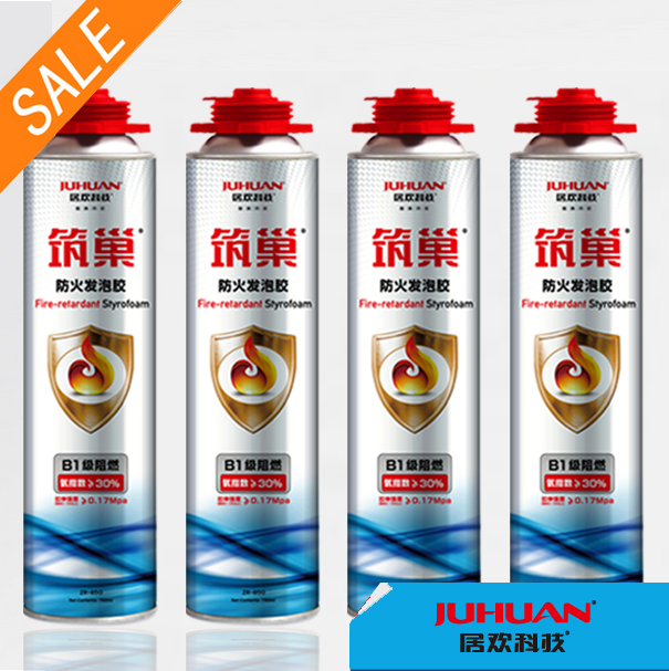 JUHUAN large expansion 750ml pu foam polyurethane foam with bulk expandable
