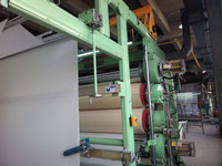 calender machine for laminated fabric