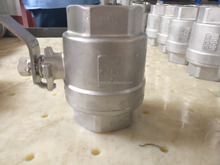 Npt/Bsp thread connection high quality stainless steel tank pipe ball valve