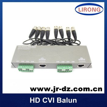 2014 new HD CVI CVI UTP 8 channel passive video Transmitter for Coaxial cable