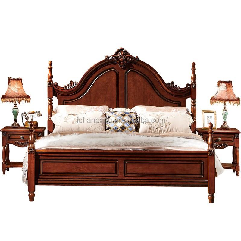 American Bedroom Set Country Colonial Bedroom Solid Wood