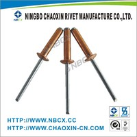 chinese products Open Type Aluminum Blind Rivets with High Quality and Many Sizes