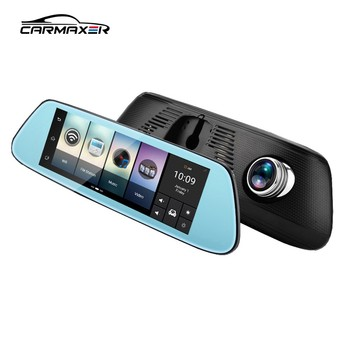 4G/ navigation/wifi / car dvr rearview mirror gps android camera