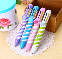 high quality promotional 4color deluxe ball pen