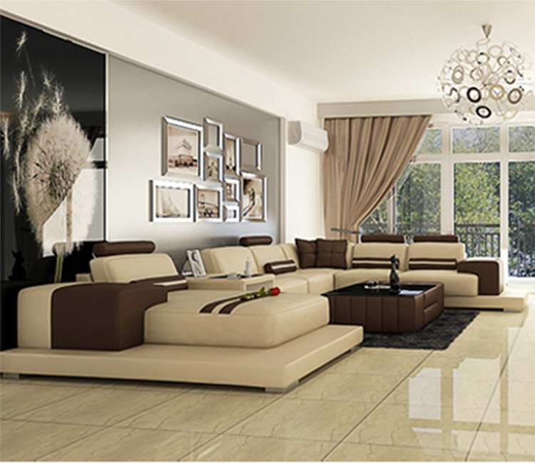 Good Quality Modern Design U Shape Furniture Living Room