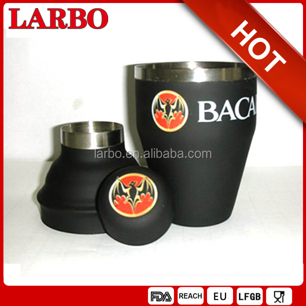 BARCARDI rubber coated cocktail shaker