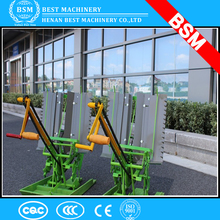 2 row manual portable rice planter/ Hand Cranked 2 Rows Rice Transplanter