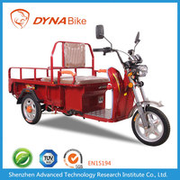 DYNABike Green powerful 500-2000w 48-60v 20ah-40ah adult electric 3 wheel cargo trike motorcycle for Middle East
