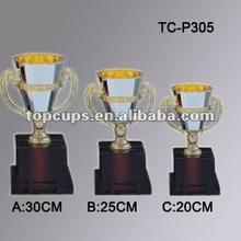 Plastic trophy cups with competitive price