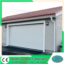 PU foam insulation non finger protection sectional garage side door