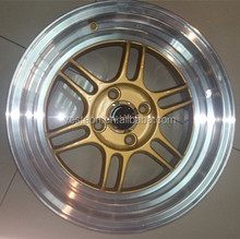 automotive parts wheel rim ISO JWL VIA racing alloy wheel for car