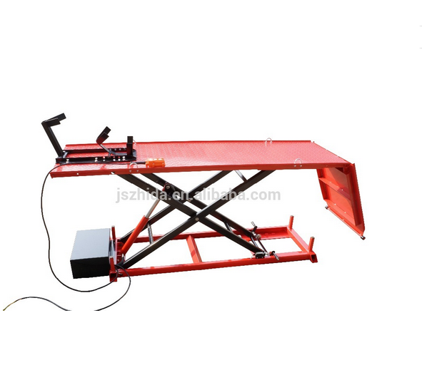 Underground used pure Electrical Motorcycle lift table with CE