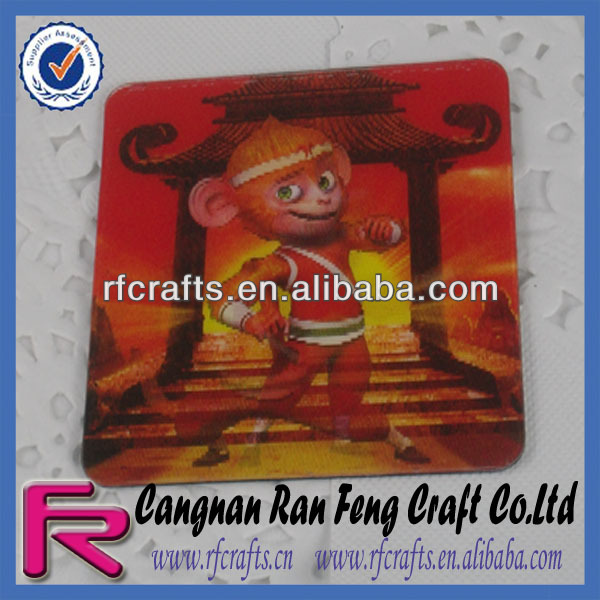 3D Lenticular Fridge Magnet Sticker