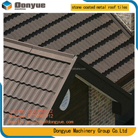 Villa Clay Roof Tile/colorful stone coated metal roofing tile