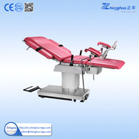 Medical Equipment Gynecological Examination Table Antique Operating Table