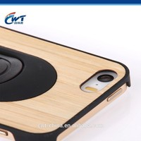 High quality top grade natural real wood mobile phone case for iphone 5 5s