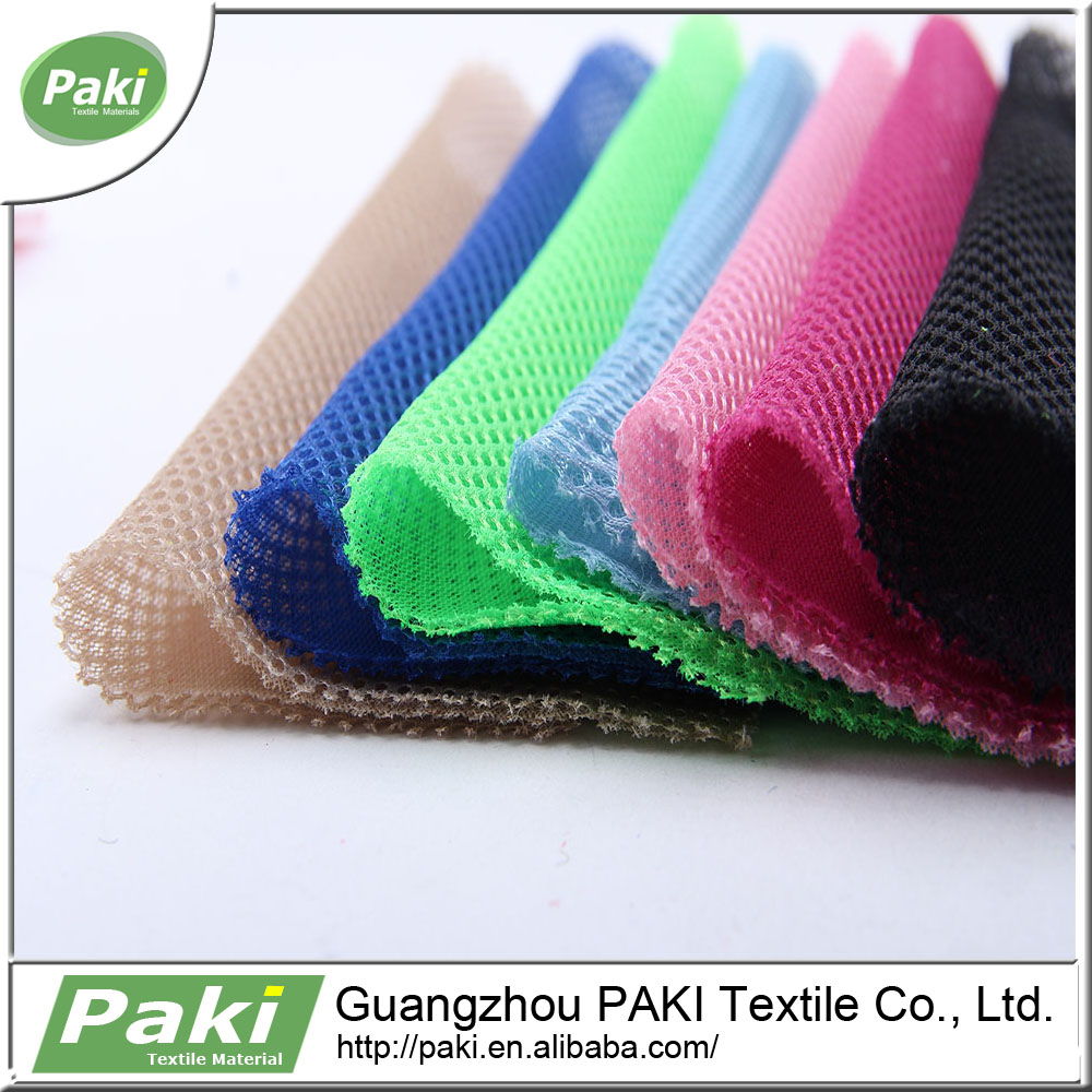75x75D polyester durable lining 3D sandwich air mesh fabric for sport shoes