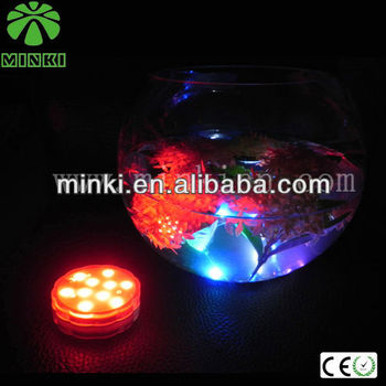 MINKI remote control christmas led lights wholesale 7 color change