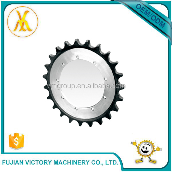 Mechanical Parts Chain And Excavator Split Sprocket For Industrial Machinery
