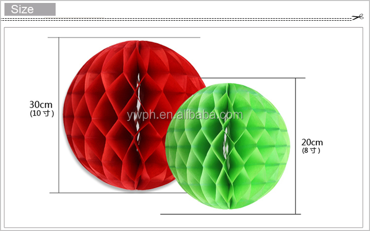 honeycomb paper ball