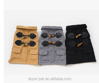 Classic horn wool coat, Overcoat pet/dog clothes