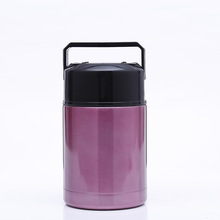 Stainless Steel Insulated Tiffin Lunch Box Food Stewing Pot