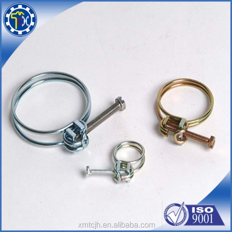 Custom Bended Nickel Plated Metal Stamping Parts Spring Clamps