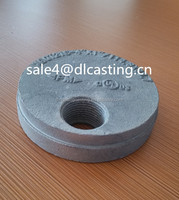 Ductile Iron Grooved cap Painted Ral 3000 Pipe Fittings 3''88.9