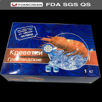 Low Price Frozen Shrimp Carton With