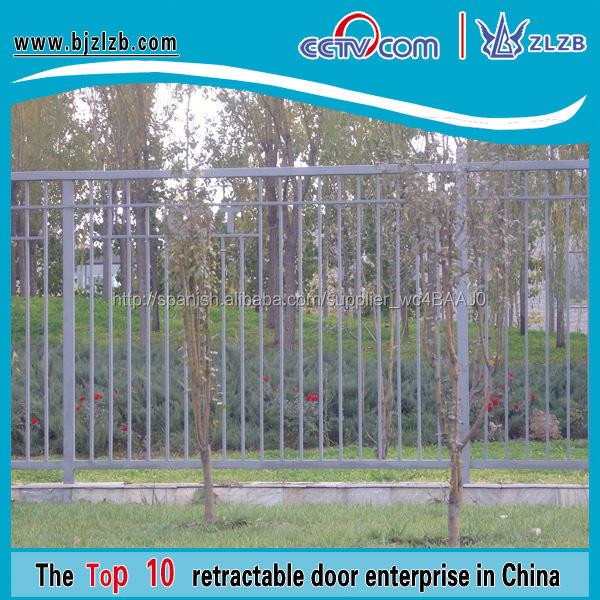 Modelos de puerta de hierro forjado y la cerca vallas de for Vallas de hierro para jardin