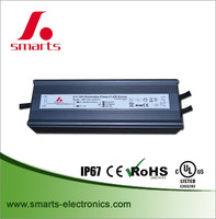 IP67 waterproof constant current dimmable 3000ma 100w 120w led driver