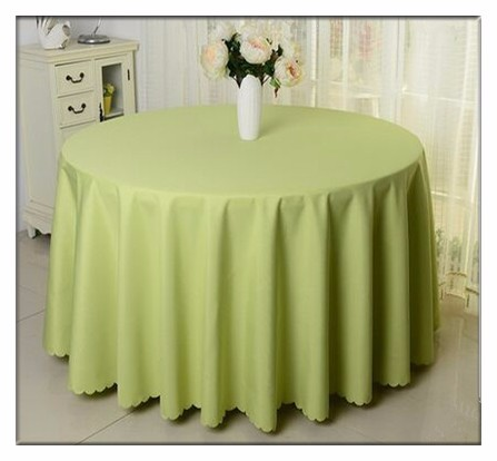 plain dyed table cloth for wedding banquet restaurant