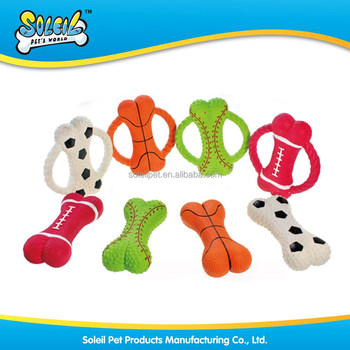 Wholesale Sports Designs Pet Toy Non-Toxic Dog Toy Latex