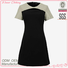 hot sale korean model clothing with a-line for formal/office wear