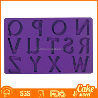 Letters Silicone Mold Fondant Cake Decoration Bakeware