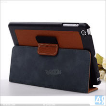 Two Fold PU Leather Stand Case Cover for APPLE iPad Mini 2 / 3 with stylus pen holder