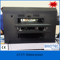High quality A3 UV flat bed printer price DX5 print head flatbed uv printer