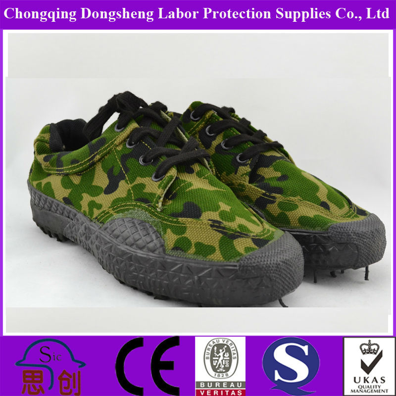 low cut military army canvas shoes