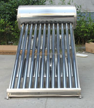 Parabolic Steel solar concentrator water heater solution