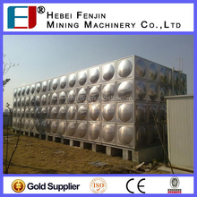304 316 SS Food Grade Low Price Stainless Steel Water Tank For Sale