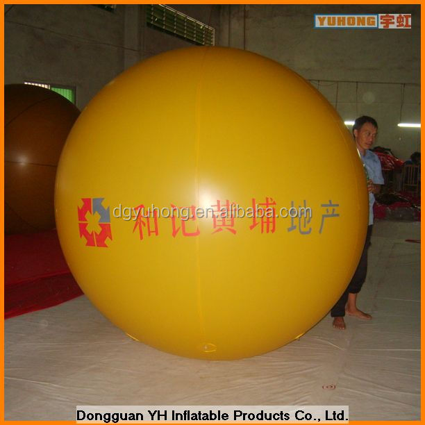 3m giant round PVC balloons for advertising