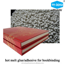 ROCKY good quality hot melt school book magzine bookbinding adhesive spine glue for printing press