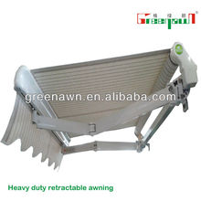 Motorized aluminum awnings/shelter for balcony/balcony awnings